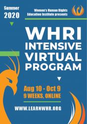 Women's Human Rights Education Institute Intensive Virtual Program